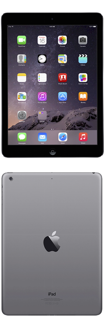 Apple® iPad Air 2 128GB Wi-Fi - Space Gray