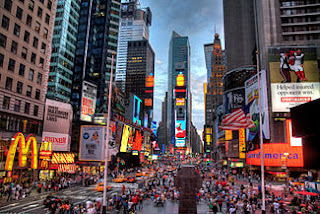 Times Square,New York,America