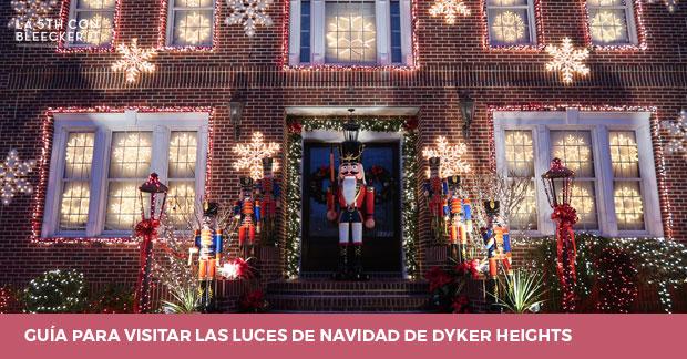 Visitar luces de Navidad de Dyker Heights en Nueva York 1