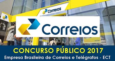 CORREIOS confirma abertura de concurso público já na primeira quinzena de outubro
