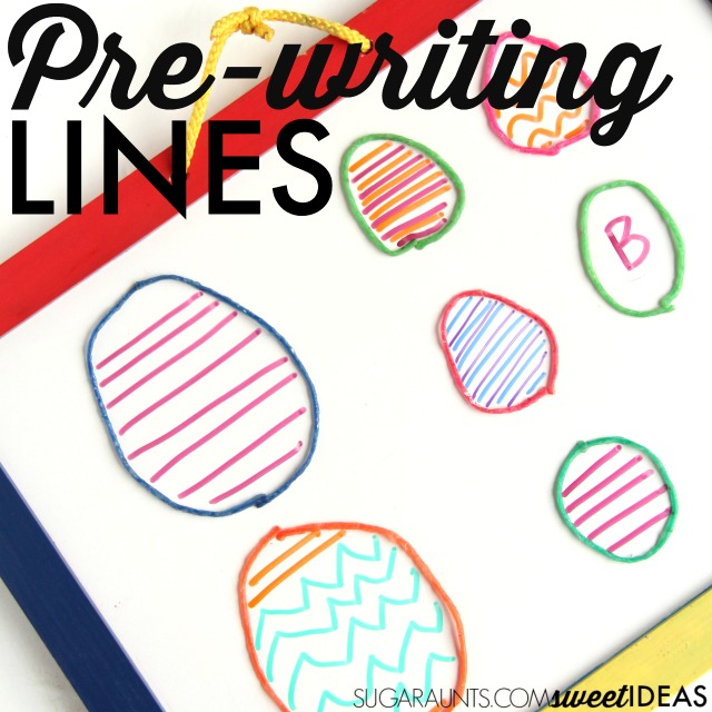 The OT Toolbox: Pre-Writing Lines Handwriting Activity
