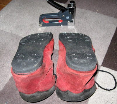 Chaussures de neige anti-dérapantes !