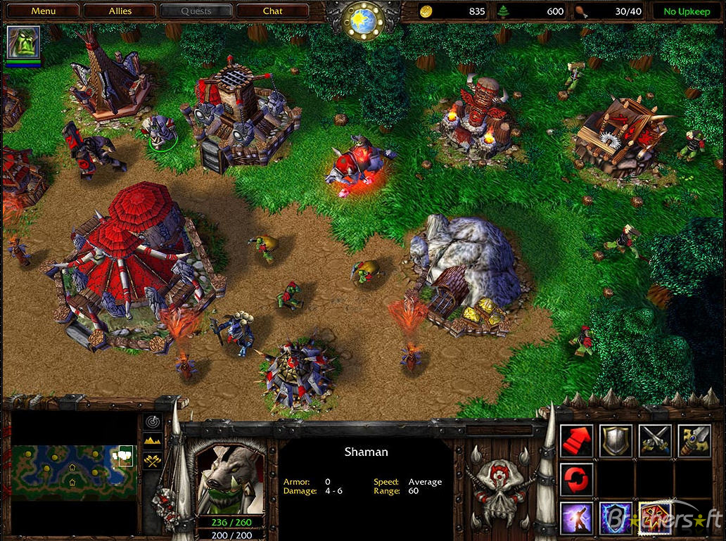 Choose Your Weapon: Warcraft 3: Reign of Chaos