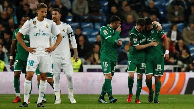 Copa Del Rey: Madrid Disingkirkan Leganes
