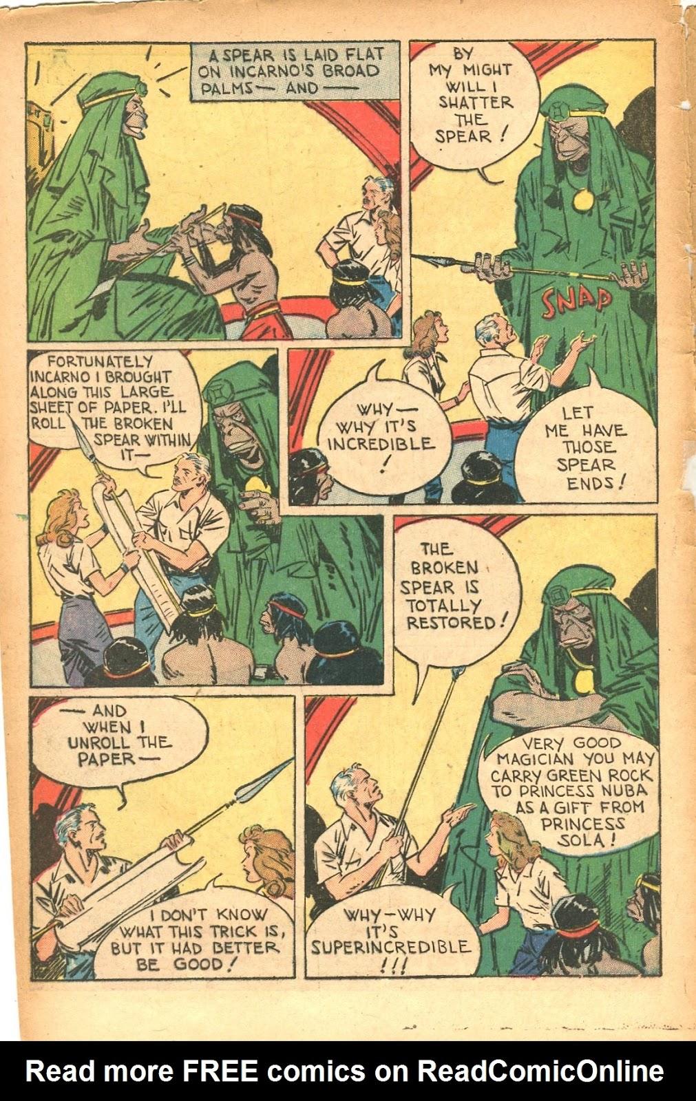 Read online Super-Magician Comics comic -  Issue #35 - 8
