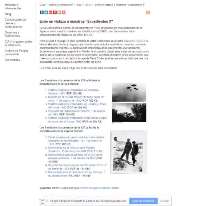 NSA en conflicto contra el Departamento de Defensa de los EE.UU, CIA por el tema de los OVNIS CIA%2B5