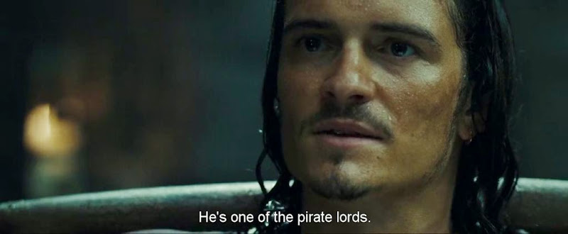 Screen Shot Of Hollywood Movie Pirates of the Caribbean At World's End (2007) In Hindi English Full Movie Free Download And Watch Online at worldfree4u.com