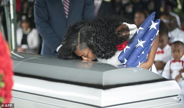 Myeshia Johnson: Soldier's widow says Trump 'made me cry'