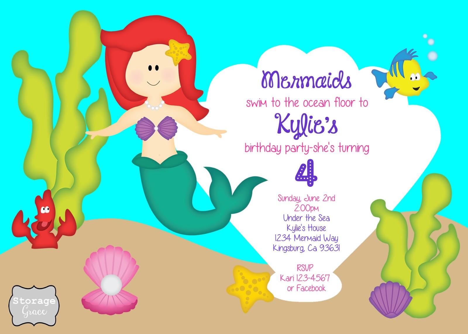 cute invitation wording for 4th birthday : Cogimbo.us