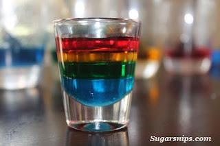 liquid density rainbow