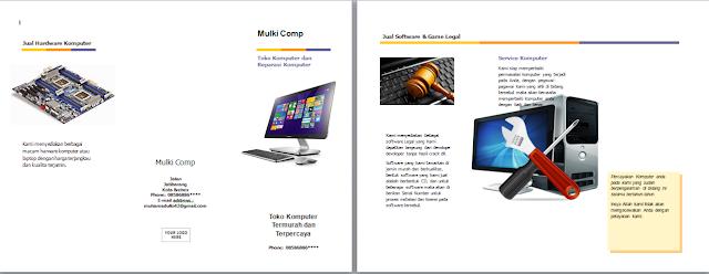 Cara Membuat Brosur dengan Microsoft Word