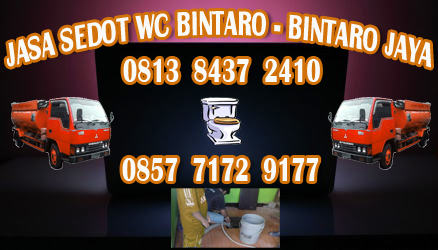 Jasa SedotWc Bintaro Jaya