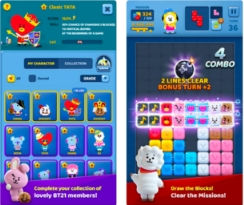Download Game Puzzle Star BT21 Apk Karakter BTS Telah Hadir