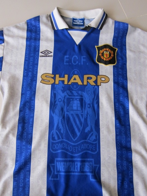 half off 89b61 657ae Manchester United's leaked midnight blue and gold away kit ...