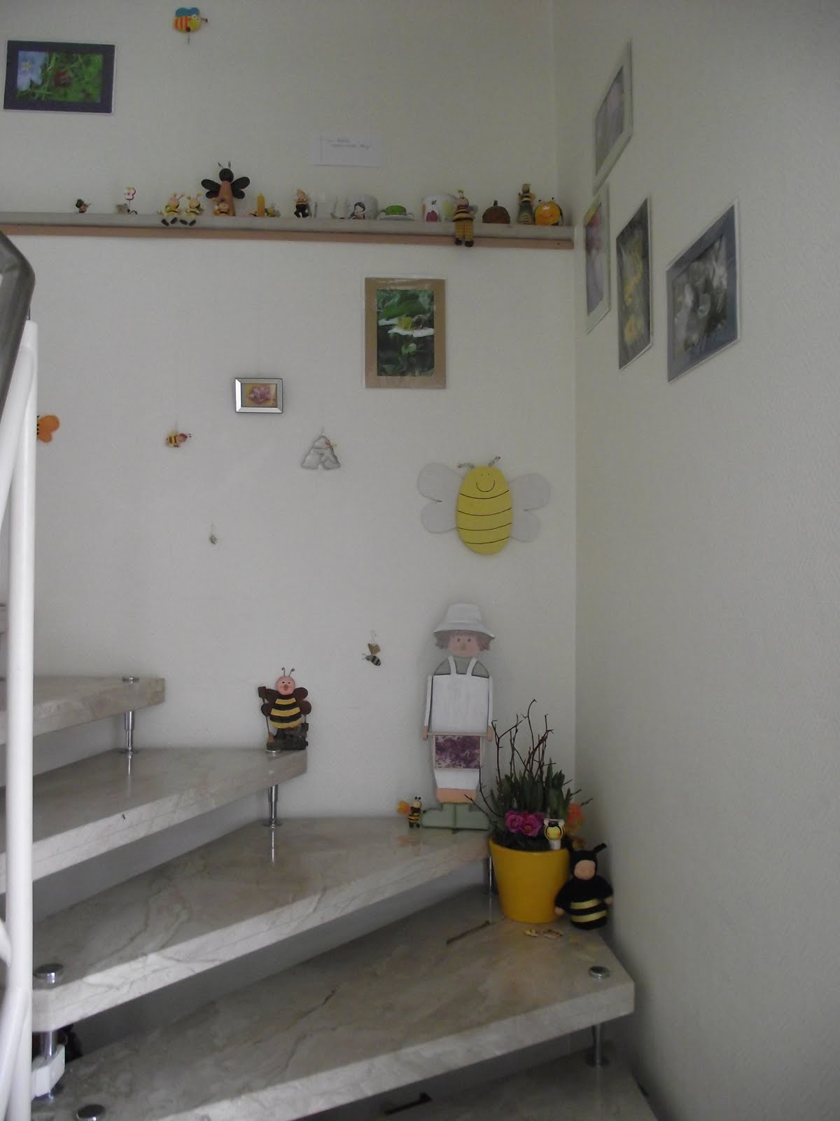 bienen und drum rum bienen deko. Black Bedroom Furniture Sets. Home Design Ideas