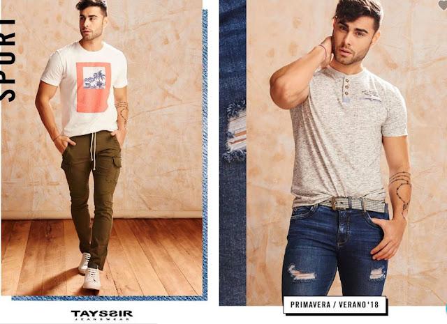Catalogo de tayssir jeans peru primavera verano 2018