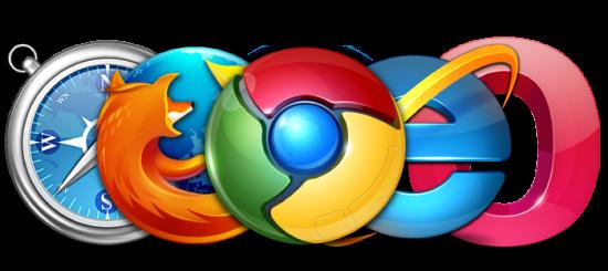 Logos navegadores web