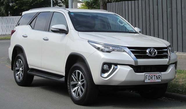 Harga Mobil Toyota Fortuner 2019 Jakarta