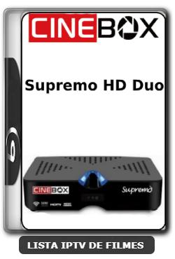 Cinebox Supremo HD Duo Nova Atualização Modificada Correção SKS 61w - 21-06-2020