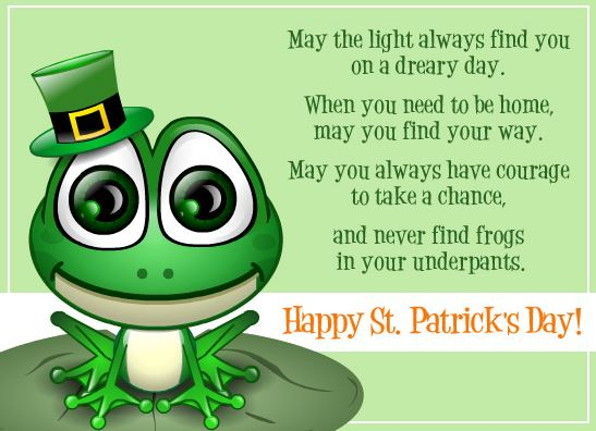 St Patrick's  whatsapp wishes