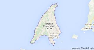 Labuan Map