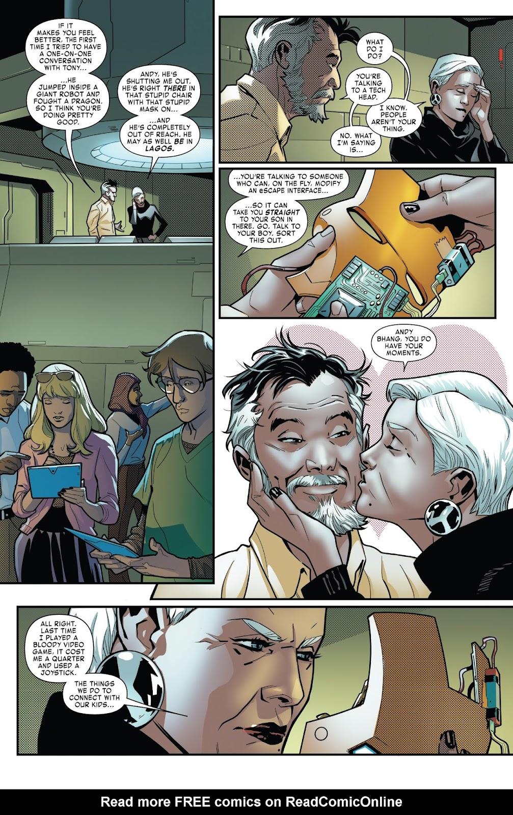 Read online Tony Stark: Iron Man comic -  Issue #6 - 16