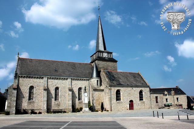 SULNIAC (56) - Eglise Saint-Pierre-aux-Liens (XIIe-XVIe siècles)