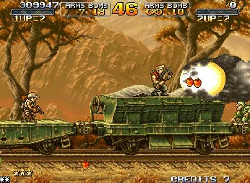 Metal Slug Anthology screenshot 2