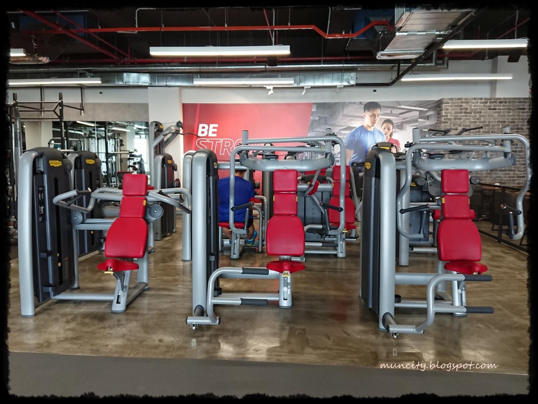 Lalalaland Fitness First Platinum Melawati Mall Body Gym Pump Warna Free Weight Area