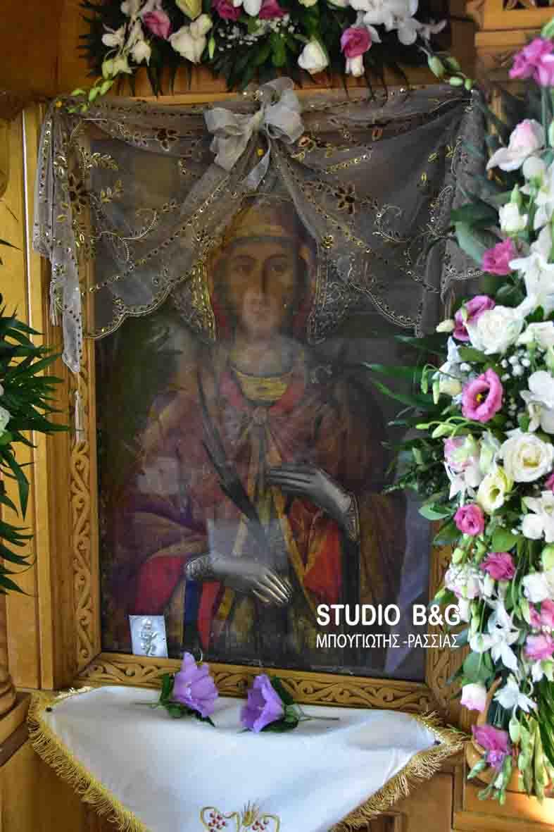 Η εορτή της Αγίας Κυριακής στο Κουτσοπόδι