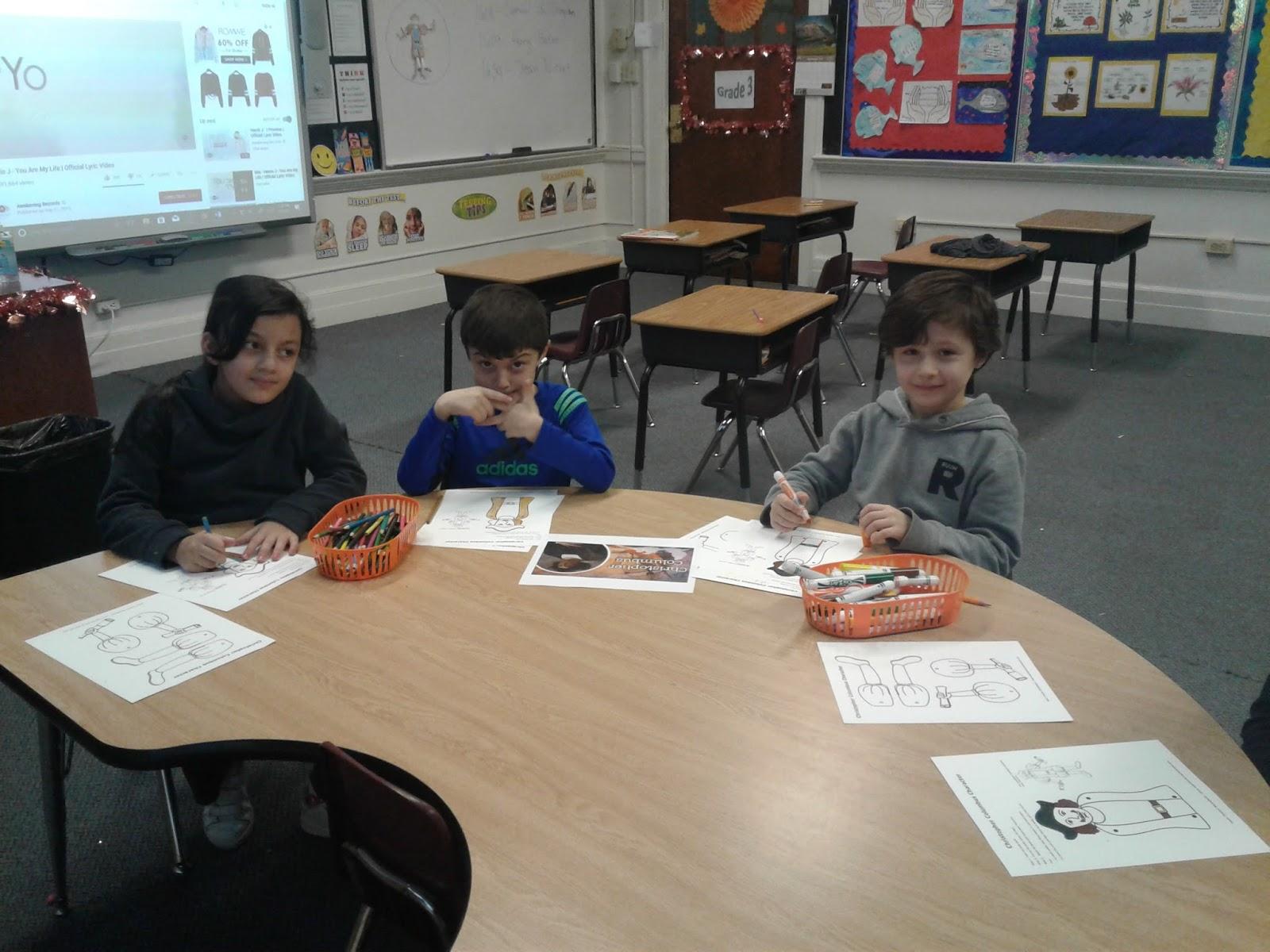 3rd Grade At Maarif School The 14th Week Of School