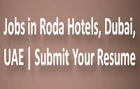 Jobs in Roda Hotels, Dubai, UAE