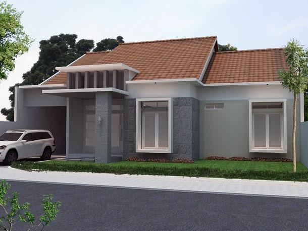 15 rumah sederhana tapi mewah desain terbaru model
