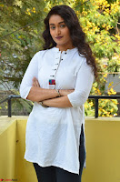 Kiran Chetwani in Denim and White Kurti  Exclusive 018.JPG