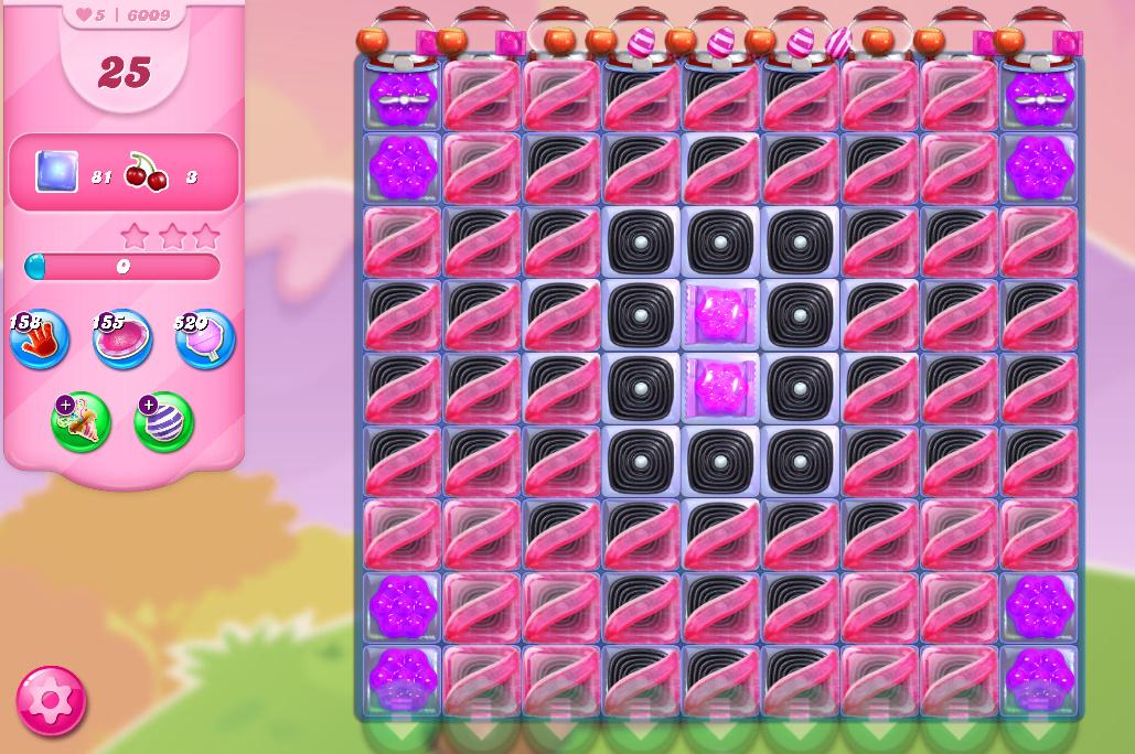 Candy Crush Saga level 6009