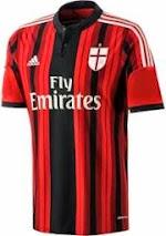 Resmi Bocoran Jersey Ac Milan Musim 2014-2015 Akhirnya di Resmikan