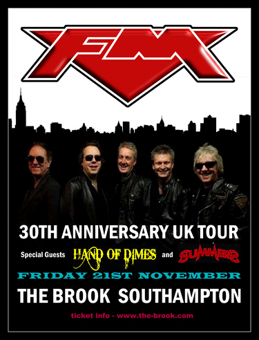 FM at Southampton The Brook 21 Nov 2014 poster