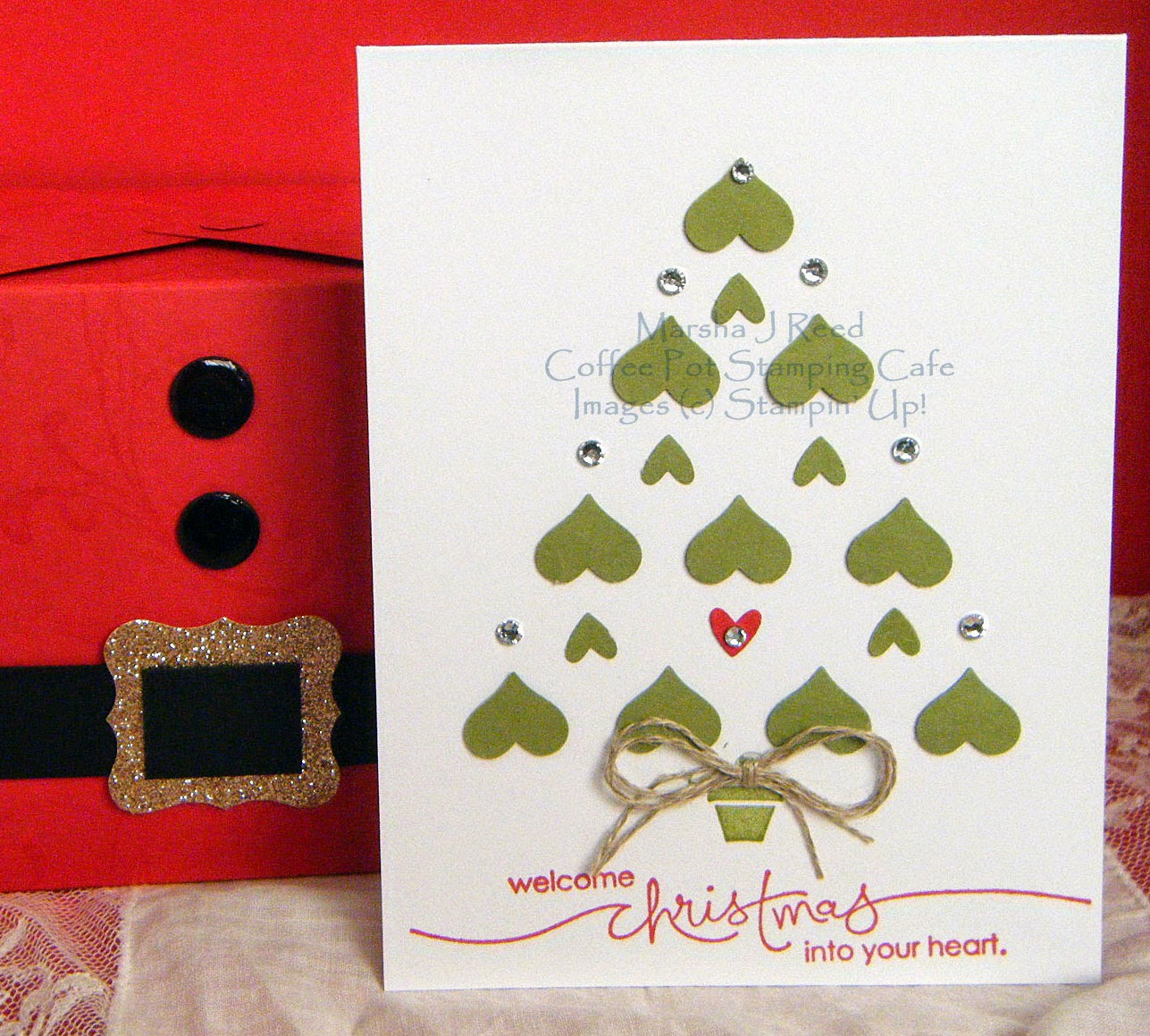 Coffee Christmas Cards.Coffee Pot Stamping Cafe Sunday Christmas Card Challenges 52