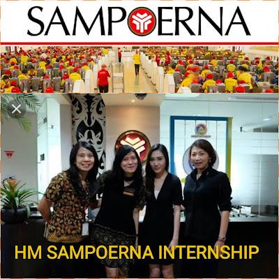 Lowongan Kerja Terbaru PT. HM Sampoerna Tbk Jobs: Internship Program 2018