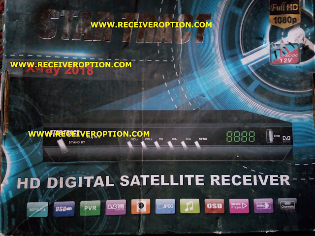 STAR TRACT X-RAY 2018 HD RECEIVER POWERVU KEY NEW SOFTWARE