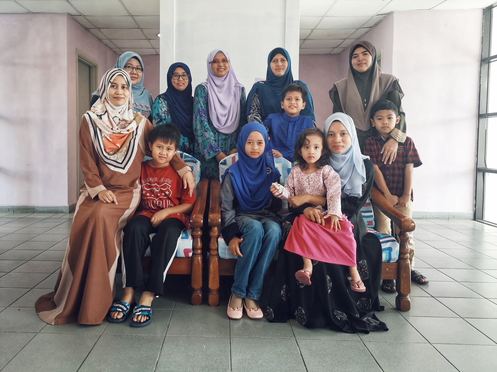 Majlis Bacaan Yasin & Tahlil KMKN 95/96 - Bersama anak