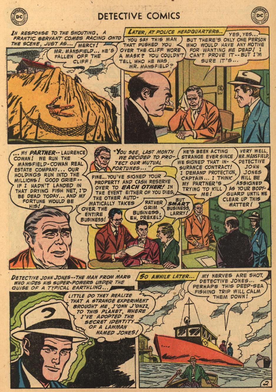 Read online Detective Comics (1937) comic -  Issue #229 - 28
