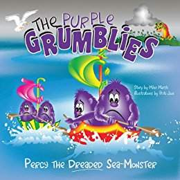 The Purple Grumblies: Percy the Dreaded Sea-Monster - a Children's Bedtime Story by Mike Marsh
