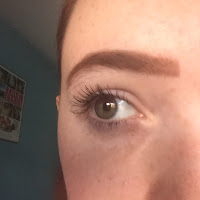 my eye with natural collection mascara