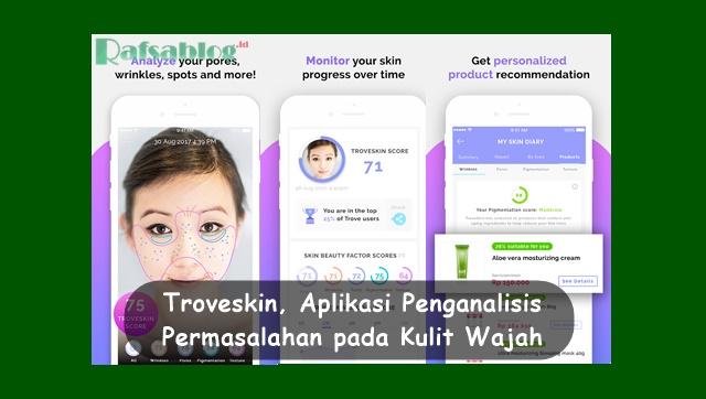 Troveskin, Aplikasi Penganalisis Permasalahan Kulit Wajah