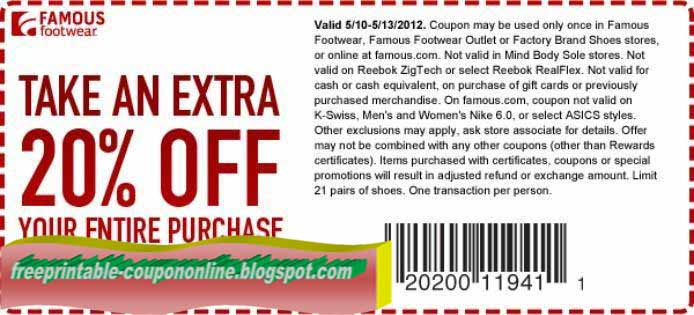 image regarding Famous Footwear Printable Coupons in Store titled Renowned shoes printable discount coupons april 2018 : Vitamix tremendous