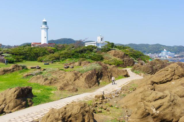 房総半島最南端・野島崎灯台(南房総市)