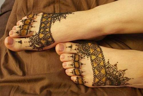 Arabic beautiful Mehndi fashion craztixt