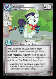 My Little Pony Coloratura, Happy Camper Marks in Time CCG Card