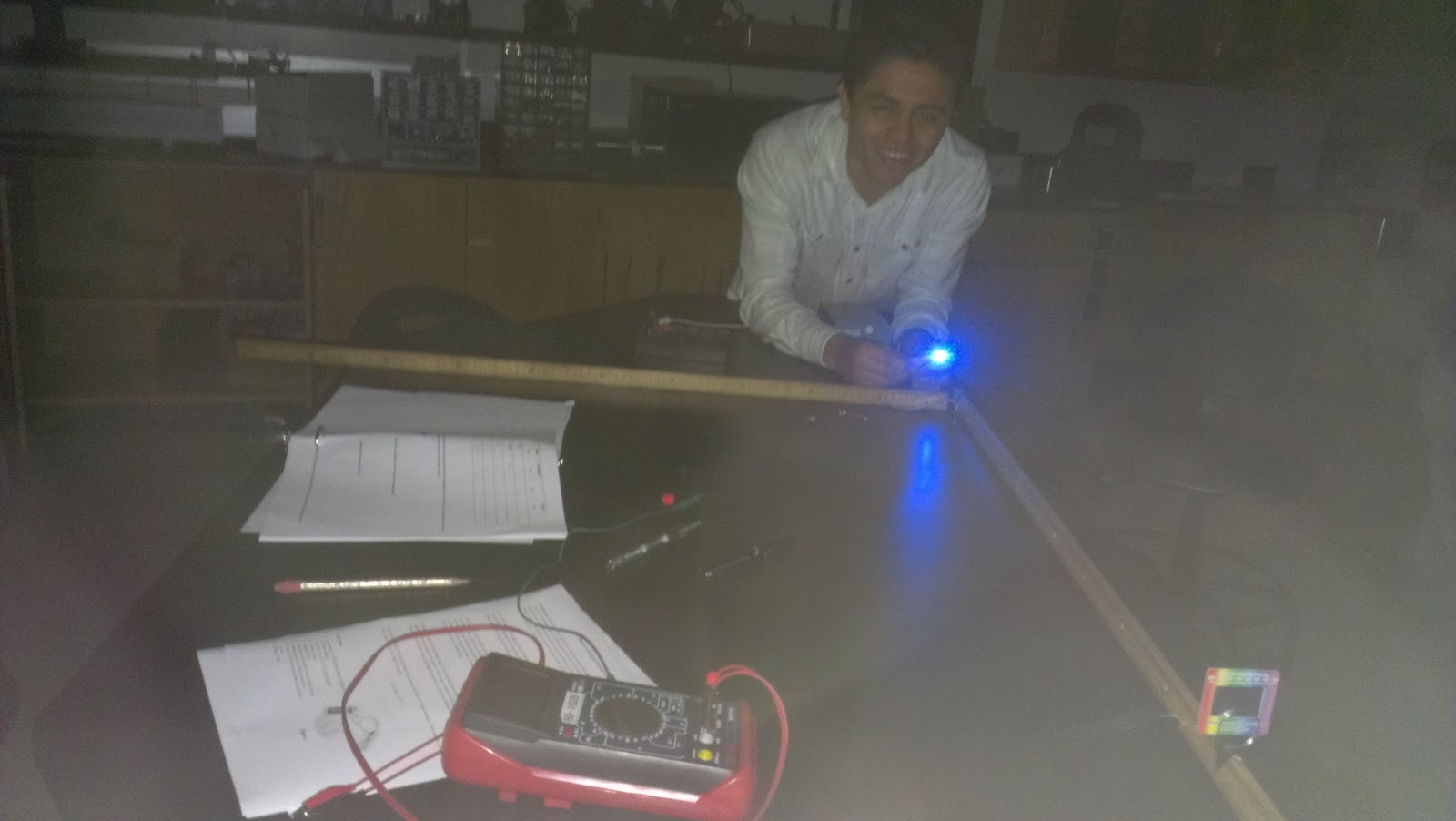 Physics 4c Qtran Planck S Constant From An Led